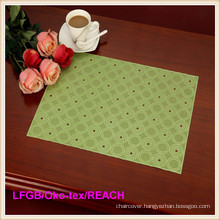 PVC Pressed and Cutout Lace Placemat (JFCD-0564)