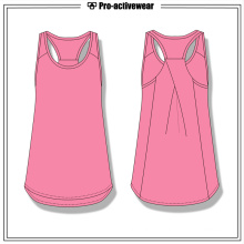 Factory Price Women Summer Sport Clothing Tops Gym Tank Top