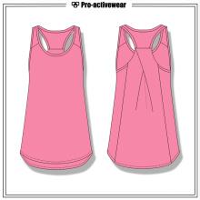 Preço de fábrica Mulheres Verão Desporto Vestuário Tops Gym Tank Top