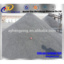 Black SiC / silicon carbide kemurnian tinggi