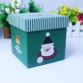 Caixa de papel de presente de papelão de Natal de luxo