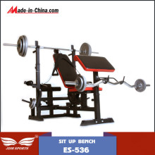 Workout Semi Commercial Weight Lifting Bench mit Hantel (ES-536)