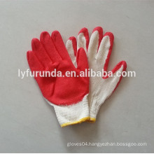 CE cerficate latex coated work gloves factory