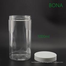 Envase de comida plástico transparente vacío 1000ml FDA