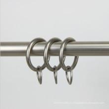 1 дюйм сатин никель стали драпировки занавес кольцо