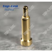Federbelasteter Pogo Pin mit Durchmesser