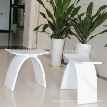 Adult Solid Surface Stone Bath Shower Seat Stool