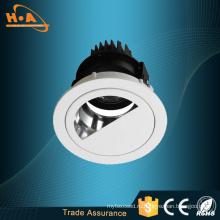Cob светодиодный полукруг отверстие Железный лист свет шайбы стены