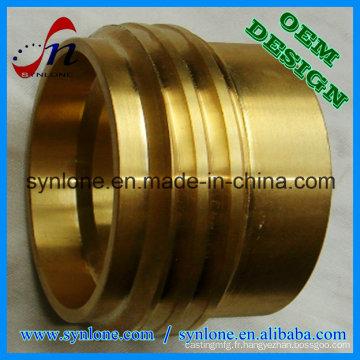 Coulée centrifuge adaptée aux besoins du client et usinage de précision bronze / douille de cuivre