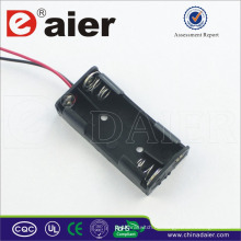 Daier держатель 3В ААА батареи с проводом 2 ААА батареи держатель
