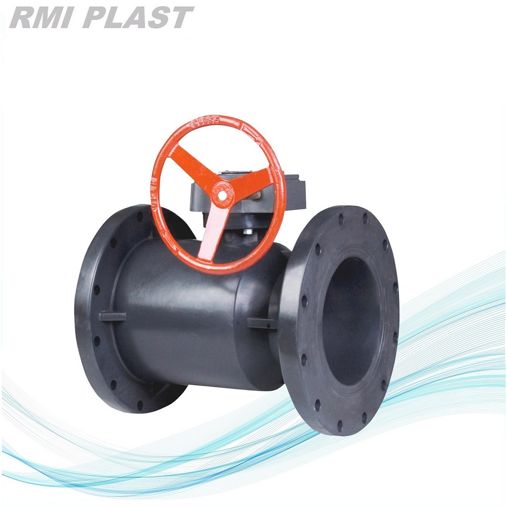 UPVC Ball Valve Flanged For Industrial
