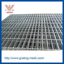 Caillebotis industriel / galvanisé / en acier pour centrale électrique
