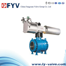 API607 Pneumatic Welded Body Ball Valve