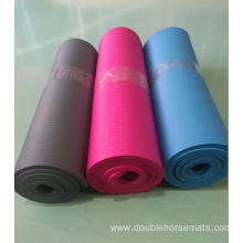 NBR vertical stripes sports mat