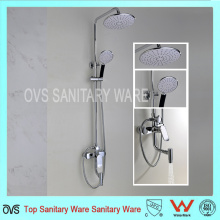 New Style Chrome Stainless Steel Square Rain Shower Head Shower