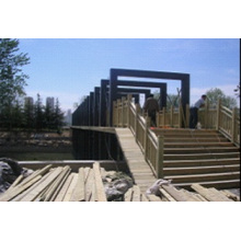 Niedrige Kosten, einfache Installation Moderne Art Steel Structure