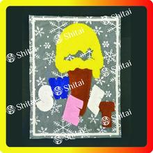 Supply for Ice Cream Towel Patch Ice Cream chenille Patches export to United States Exporter