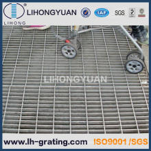 Горячего оцинкования стальной решетки для платформы дорожки
