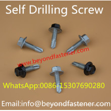 Dacromet Screw Roofing Bolts Bi-Metal Screw