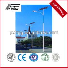 solar powered HDG steel light pole