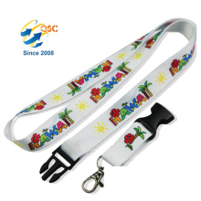 Promotional Custom Silk Screen Printing Logo Heat Transfer Lanyards