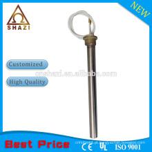 Aquecedor de cartucho elétrico de aço inoxidável