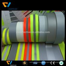 high-light fluoreszierendes grün reflektierendes Gurtband