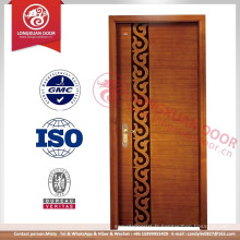 Dessins de porte principale en bois de teck
