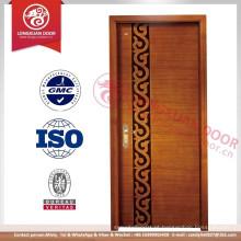 Projetos de porta principal de madeira de teca