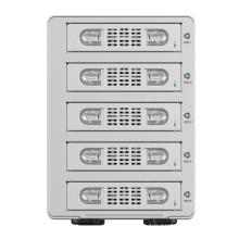 ORICO Aluminium Dual bay 3.5 pouces SATA à USB3.0 RAID boîtier de disque dur externe (9528RU3)