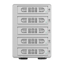 ORICO Aluminum Dual bay 3.5 inch SATA to USB3.0 RAID External Hard Drive Enclosure (9528RU3)