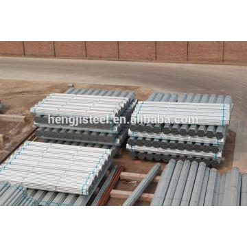 Tubo de acero galvanizado para casa verde