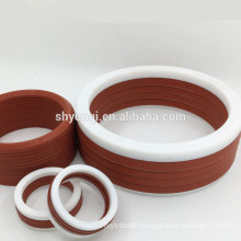 Rubber Viton V pack seal Vee packing sealing combined o ring with high compact water oil seals Fibre cloth Group