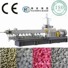 Estirador plástico de masterbatch negro de TSE-65 de alta calidad de capítulo