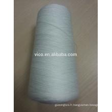 Fils filés en polypropylène pour tissu filtrant