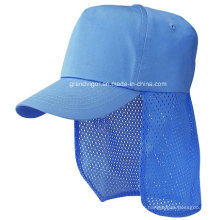Five Panels Baseball Cotton Cap with Ear Flaps (506)