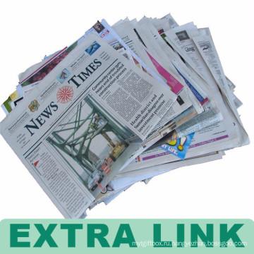 Дешевые оптовые изготовленный на заказ печатание использовать газету для продажи