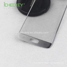 Verre trempé pour téléphone portable avec protecteur d'écran 3D Samsung S7