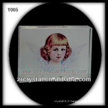 Imprimé coloré en cristal religieuxPortrait Y005