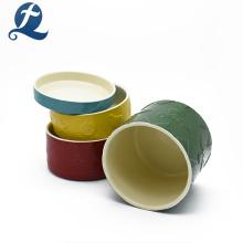 Nueva producción de cuencos de cerámica chinos apilables