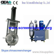 Plastic Polymer Filter Screen Changer