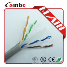 CAT6 1000FT BULK COMUNICACIÓN CABLE ETHERNET 1000 PIES OEM PULL BOX RED CABLE CAT6