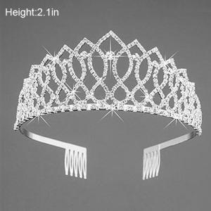 Coroas adoráveis da rainha do partido de cristal