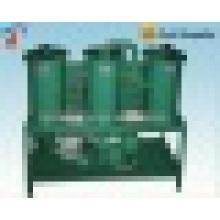 Máquina de purificación de aceite lubricante / Separador de aceite y agua de alto rendimiento