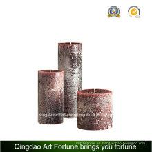 Aroma perfumada velas hechas a mano para la decoración Fabricante