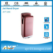 infrared sensor hand dryer stand high speed dryer for hotel use