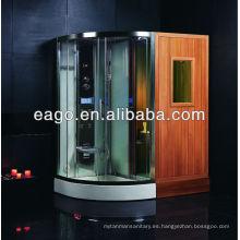 Sala de sauna de infrarrojo lejano DS202F3 con ducha de vapor