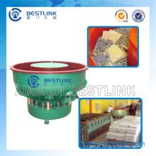 Máquina de acabamento/polimento vibratório tipo rotativo/Linear para pedra