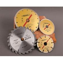 Serras circulares de corte Universal T. C. T para madeira, alumínio