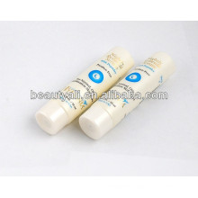 round cosmetic white tube
